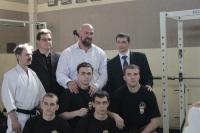 Встреча обладателя 8 дана каратэ Сергея Бадюка и Сергея Тыщенко